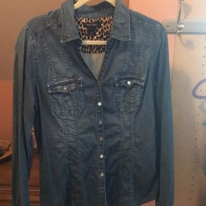 Light denim top- BHWM